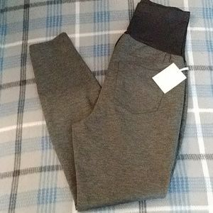 Maternity Gray Skinny Career Pants